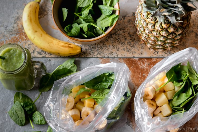 Pina Colada Green Smoothie Packets