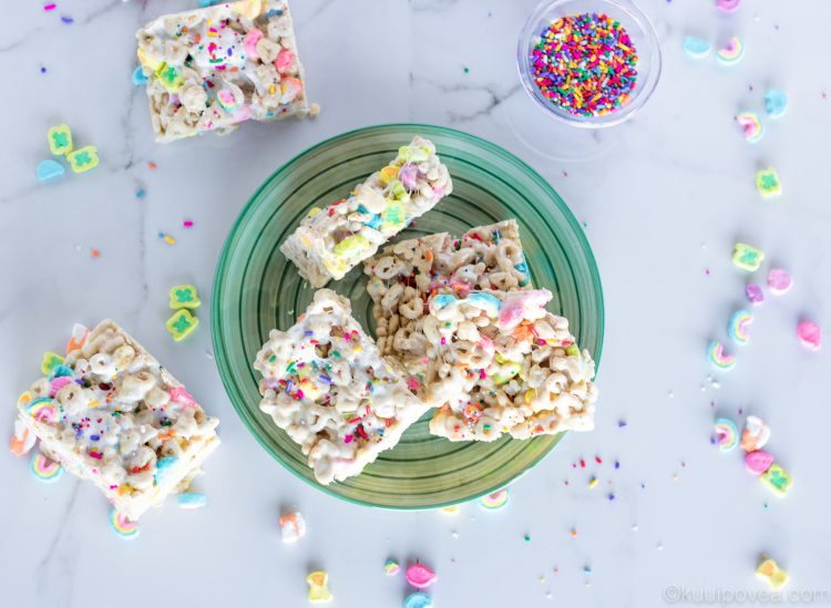 Lucky Charm Marshmallow Krispies