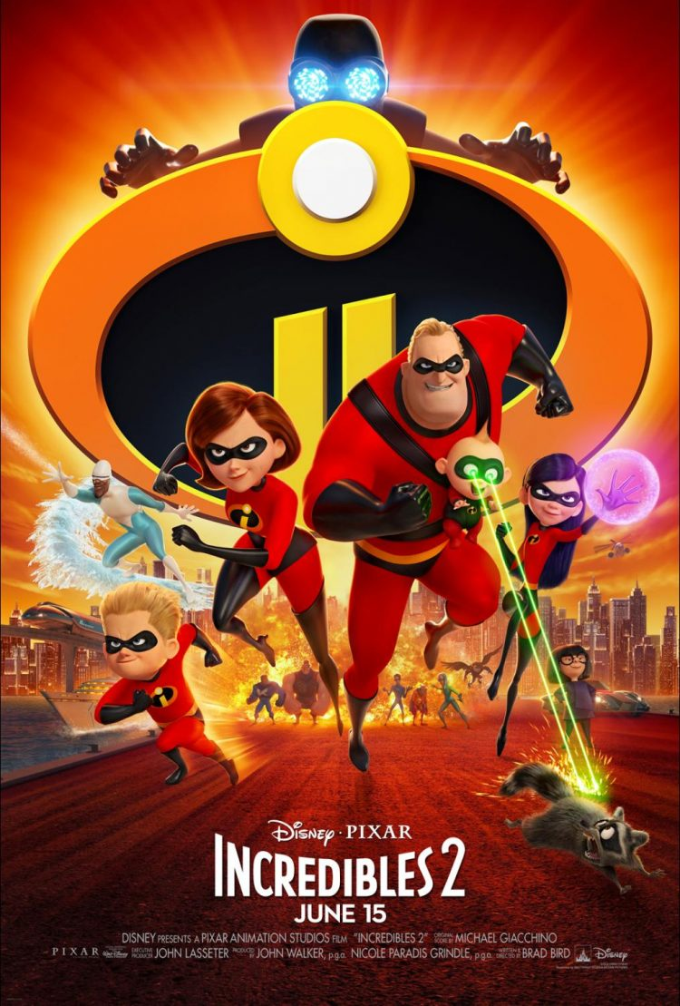 Incredibles 2-Jack-Jack's cookies and Bob's waffles.